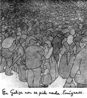 Castelao - Emigración