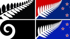 New Zeeland flags