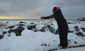 Galicia en Canadá - 11 - Entre neve