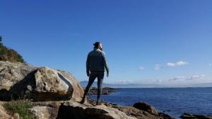 Fran Velo e o horizonte