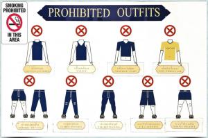 Código de vestimenta do Grand Palace (Bangkok, Tailandia)