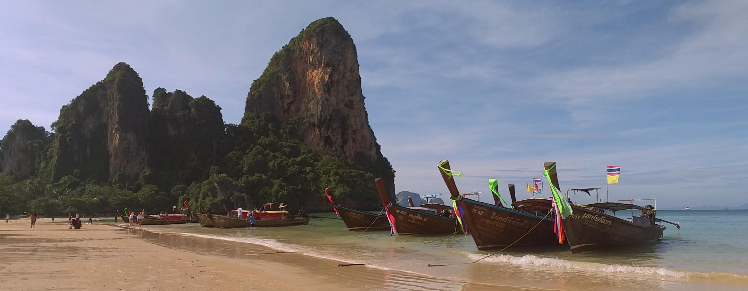 Longtail boat - Railay beach