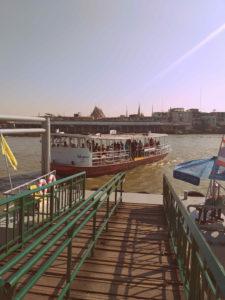 Khun Mae Pueak Cross River Ferry Pier