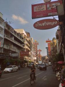 Chinatown de día en Bangkok