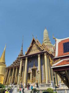 Templo do Buda Esmeralda en Bangkok