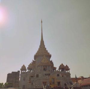 Wat Saket (Templo do Buda Dourado) en Bangkok