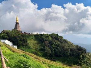 Great Holy Relics Pagoda Nabhapolbhumisiri (Queens Padoga) en Doi Inthanon