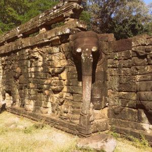 Terraza dos elefantes en Angkor Thom (Terrace of Elephants)