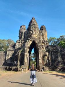 Porta Oeste de Angkor Thom