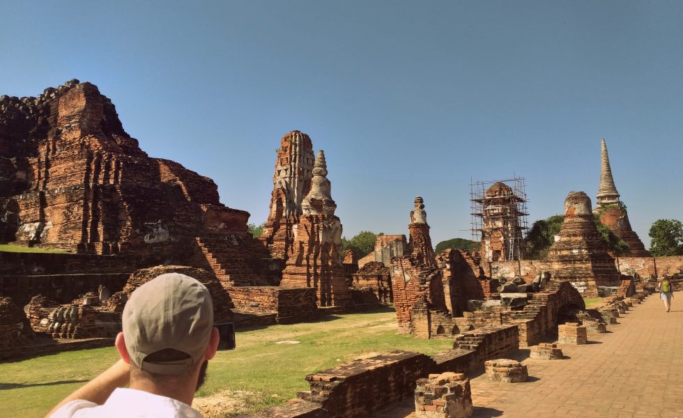 Wat Mahathat en Ayutthaya