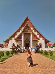 Wat Phra Mongkhon Bophit en Ayutthaya