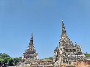 Wat Phra Si Sanphet en Ayutthaya