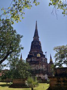 Wat Yai Chai Mongkon en Ayutthaya