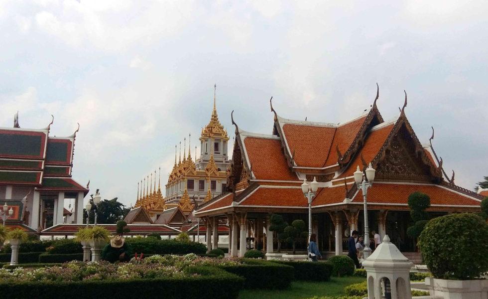 Wat Benchamabophit (Templo de Mármore/Marble Temple) en Bangkok