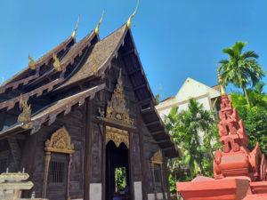 Wat Phantao en Chiang Mai