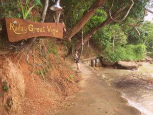De camiño ó Resort Railay Great View en Railay