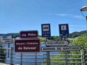 Portomarín - Encoro de Belesar