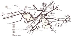 Mapa de Sarria