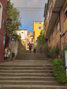 Sarria - Escaleira da fonte