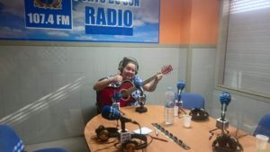 Chiña en Porto do Son Radio